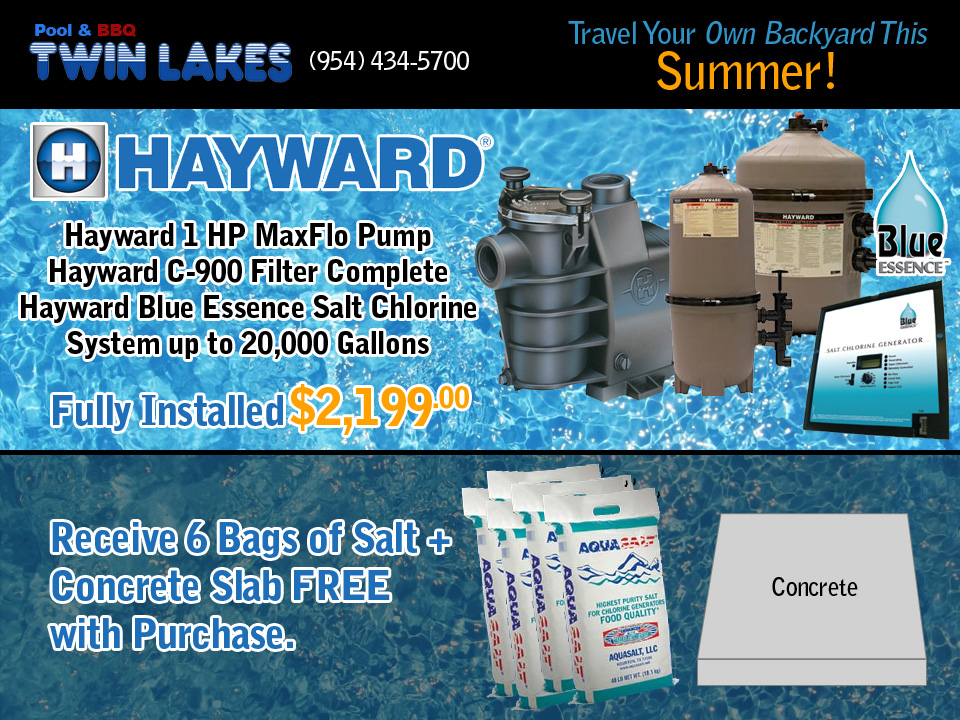 Backyard Savings from Twin Lakes Pools