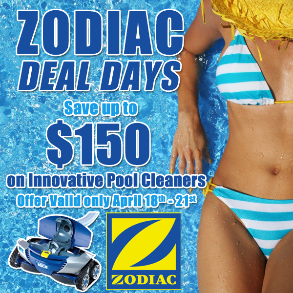 Zodiac Deal Days Special Offer by Twin Lakes Pools